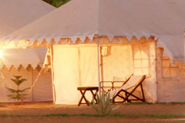 Air conditioned Tents Pushkar 01 Night Package