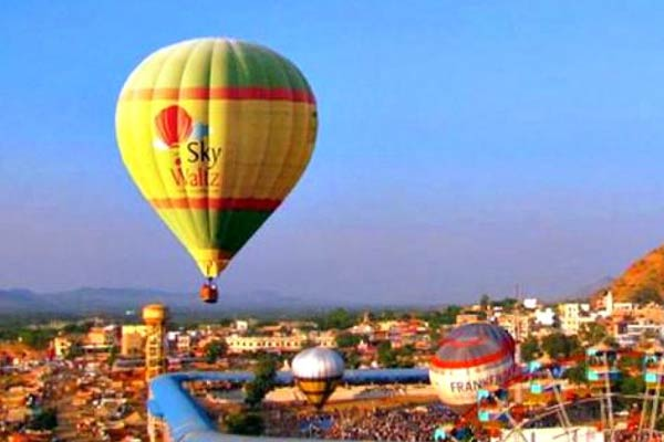 Hot Air Balloning Pushkar
